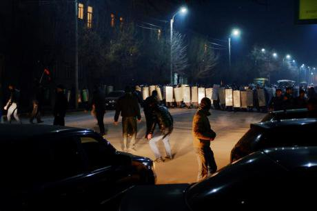 Armenia- Massive protests flare over massacre by Russian soldier 15 January 2015 by PAN Photo.jpg