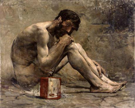 The cynicism of Ancient Greece, exemplifed by Diogenes