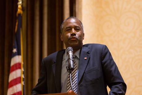 Ben Carson in 2015. Photo: Louise Wateridge/ABACA/PA Images. All rights reserved.