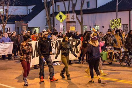Black millennials march in Minneapolis. Wikimedia/Tony Webster. Some rights reserved.
