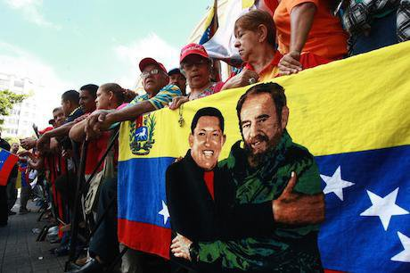Venezuelans show support for elected Directors of National Assembly. Jesus Gil/Demotix. All rights reserved.