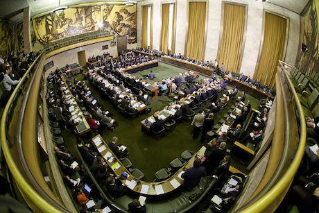 UN conference on disarmament, Geneva. United States Mission Geneva/Flickr. Some rights reserved.