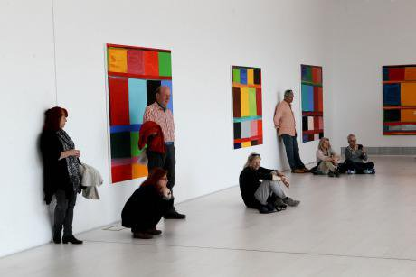Documenta 14 at the National Museum of Contemporary Art in Athens.