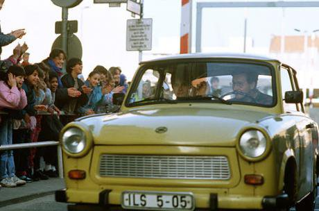In search of European flourishing? Checkpoint Charlie, November 1989.