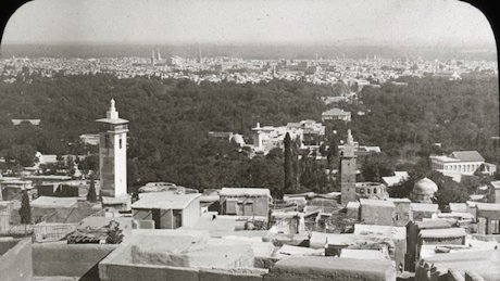 Damascus ca. 1910. Flickr Commons/OSU Special Collections and Archives.