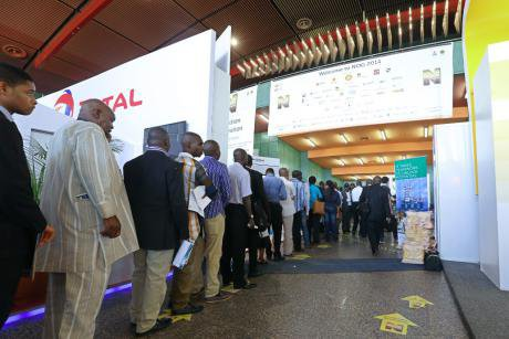 Delegates at the Nigerian Oil and Gas Conference 2014. Ayemoba Godswill/Demotix. All rights reserved.