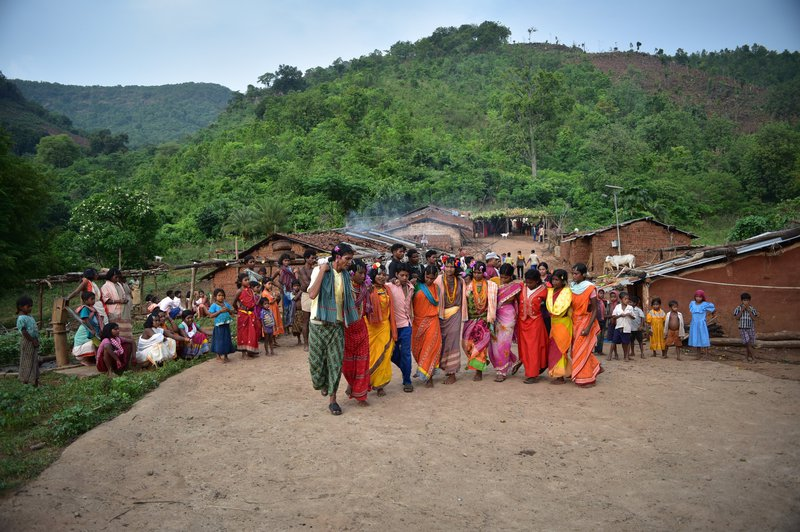 Dongria Kondh indigenous people, eastern India - showing how simple life within nature can be fulfiling @ Ashish Kothari.jpg