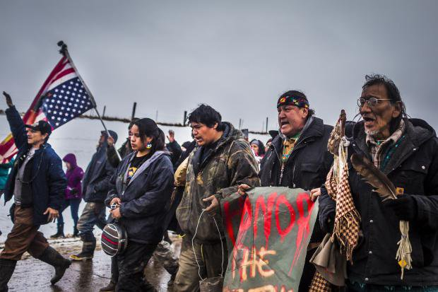 Dozens of Water Protectors Remain At DAPL Protest Camp After Evacuation Deadline_Michael Nigro:SIPA USA:PA Images.jpg