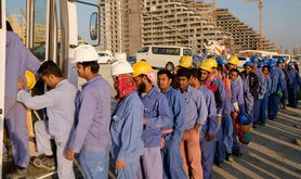 Indian migrant workers in the Gulf