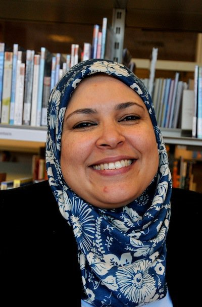 Image of Fatima, a woman featured in the Women of the World exhibition
