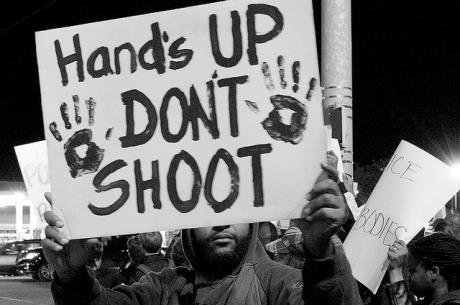 Ferguson solidarity protest in Memphis. Chris Wieland/Flickr. Some rights reserved.