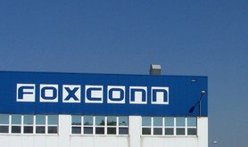 The Foxconn factory in Pardubice, Czech Republic. Wikimedia Commons/Nadkachna. Some rights reserved.