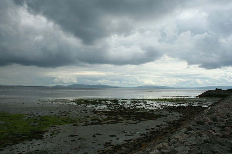 Galway beach from Salthill