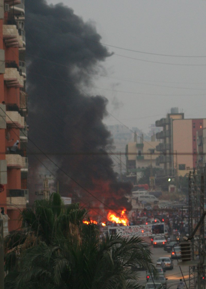 Protest at Beddawi