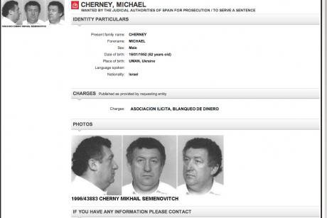 Interpol arrest warrant for Michael Cherney, a former business associate of Iskandеr Makhmudov, a prominent Russian oligarch.