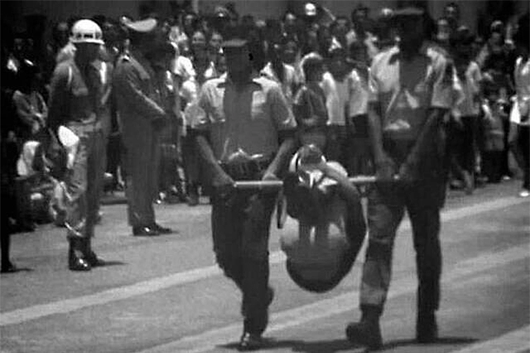 Indigenous-person-displayed-on-a-pau-de-arara-in-Belo-Horizonte-in-1970-during-the-graduation-ceremony-of-the-first-Indigenous-Guard.webp