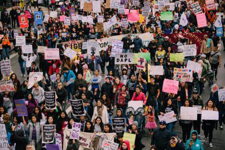 International Women's Day March 29 June 2017, Los Angles. Molly Adams_Flickr. Some rights reserved.jpg