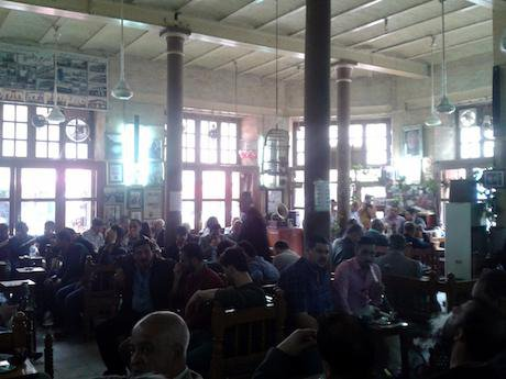 Shabandar Cafe on a Friday. Ali Ali. All rights reserved.