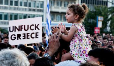 June 29, 2015 demonstration against yielding to EU austerity measures in Athens, Greece. Flickr. Some rights reserved._0.jpg