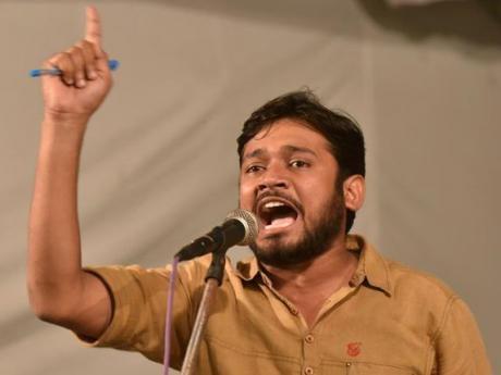 Kanhaiya Kumar, March 16, 2016.