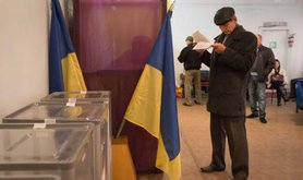 Voters in Slovyansk headed at the polls on 25 October, where they elected new municipal officials