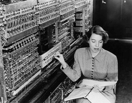 Living Large - Argonne's First Computer.