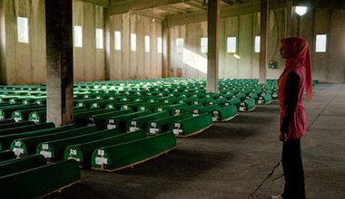 More victims of the Srebenica massacre are named in 2010. Michael Oibar:Flickr. Some rights reserved.jpg