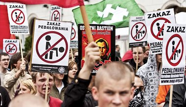 National Rebirth of Poland supporters. Fickr/Michal Porebiak. Some rights reserved.