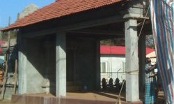 A new Hind Kovil being built in the north of Sri Lanka, countering claims that all non-Buddhist relgious buildings had been destroyed.