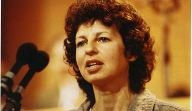 November 1980, Lesley's first public speech when she founded the all-Party 300 Group for more women in politics at  Methodist Central Hall Westminster.