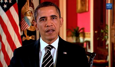 President Obama addresses the Iranian people on Nowruz. Youtube/The White House. All rights reserved.