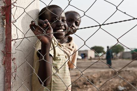 South Sudan refugee camp, 2011. Maximilian Norz/DPA/PA Images. All rights reserved.