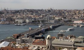 view from the Galata tower, Istanbul