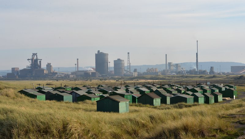 The former SSI steelworks in Redcar, in 2015 the Thai-owned firm closed the plant.
