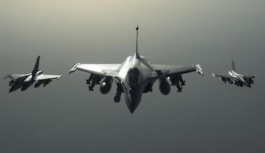 French Rafale fighters.