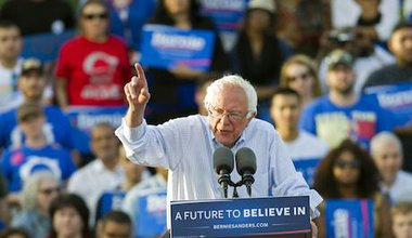 Bernie Sanders. Cliff Owen/AP/Press Association Images. All rights reserved.