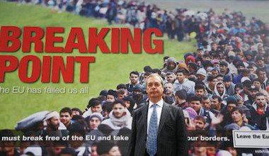 UKIP's EU referendum poster. Philip Toscano/PA Wire/Press Association Images. All rights reserved.