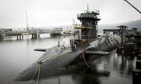 Vanguard-class submarine HMS Vigilant. Danny Lawson/PA Wire/Press Association Images. All rights reserved.
