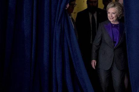 Hillary Clinton. Andrew Harnik/AP/Press Association Images. All rights reserved.