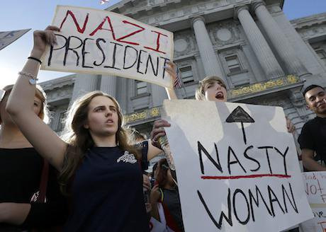 Students protest, San Francisco. Jeff Chiu/AP/Press Association Images. All rights reserved.