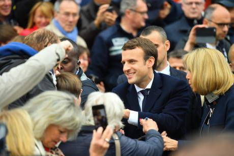 Emmanuel Macron. Liewig Christian/ABACA/ABACA/PA Images. All rights reserved.