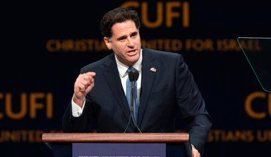 Ron Dermer, Israel's Ambassador to the United States, speaking at the (CUFI) Christians United for Israel's 2018 Washington Summit in Washington, DC on July 23, 2018