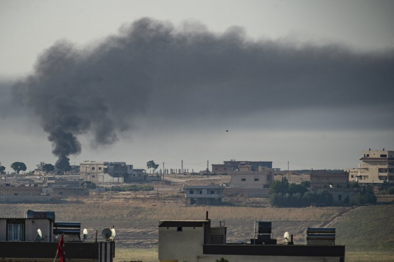 'Peace Spring' targets in northern Syria, October 11, 2019.