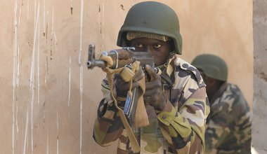 Niger Armed Forces Trained by U.S. Air Force February 2020