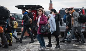 Istanbul refugees