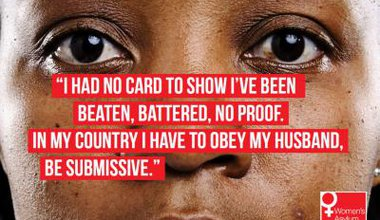 Still from new Asylum Aid campaign