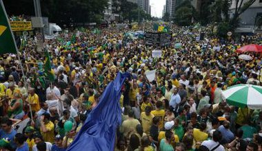 Protests in Sao Paulo Brazil Flickr 15 3 SOme rights.jpg