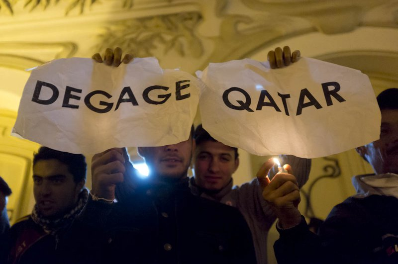 Tunisians show their solidarity with other struggles