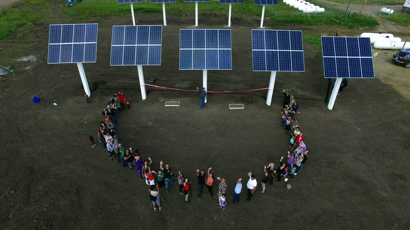 Ribbon Cutting Ceremony - taken from air on drone camera.jpg
