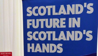 A Scottish National Party poster. Demotix/Ken Jack. All rights reserved.